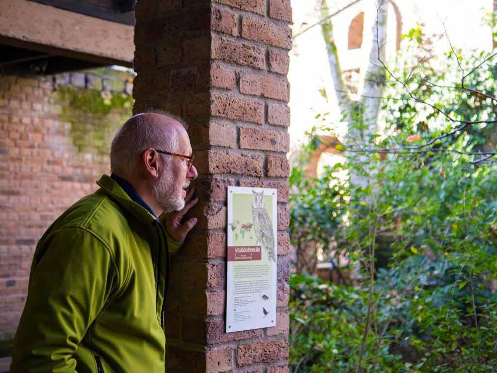 Im Kölner Zoo hat Theo Pagel seinen Lieblingsplatz im