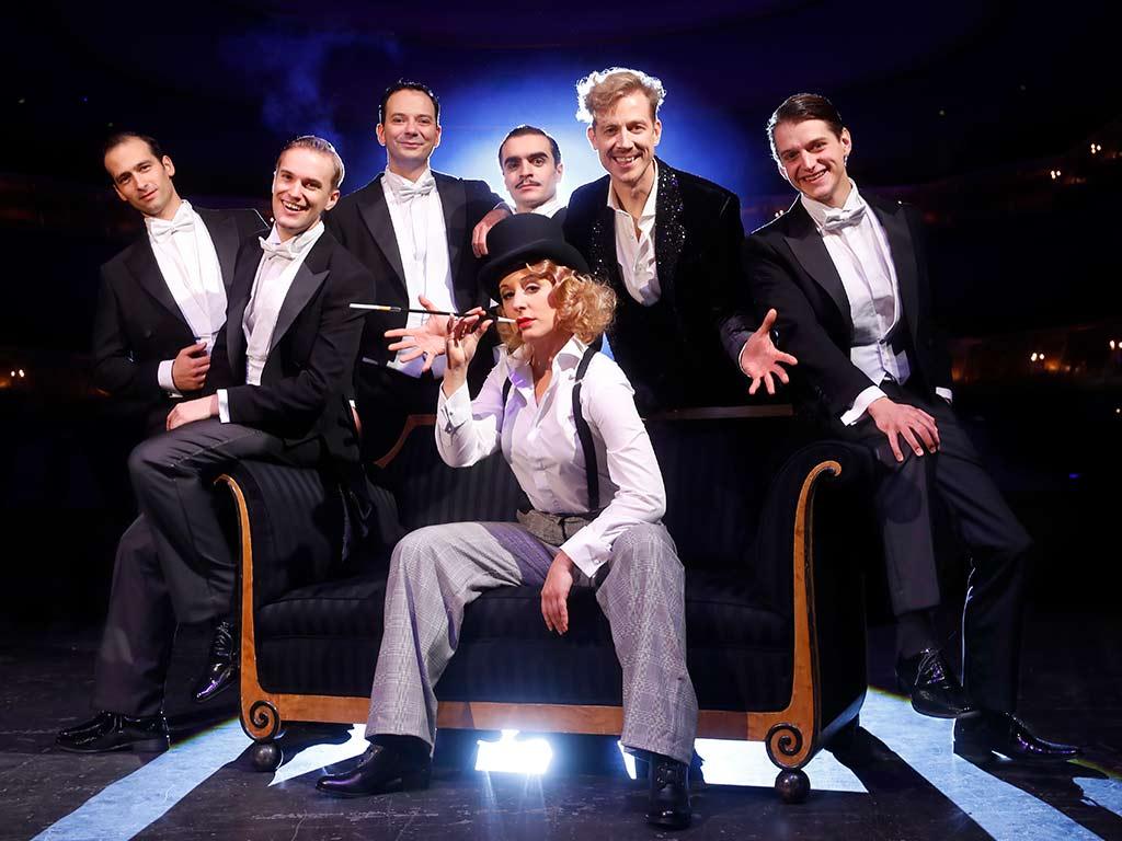 """Die große Revue-Show """"Berlin, Berlin"""" wird vom 21.01. – 02.02.2020 im Kölner Musical Dome zu sehen sein. copyright: Sven Darmer"""