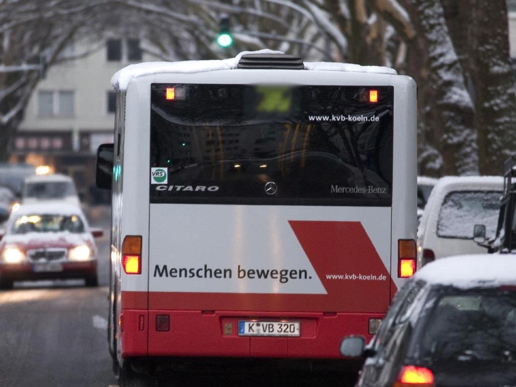 Insgesamt kosten die drei Express-Bus-Linien rund Millionen Euro im Jahr. copyright: Kölner Verkehrs-Betriebe AG