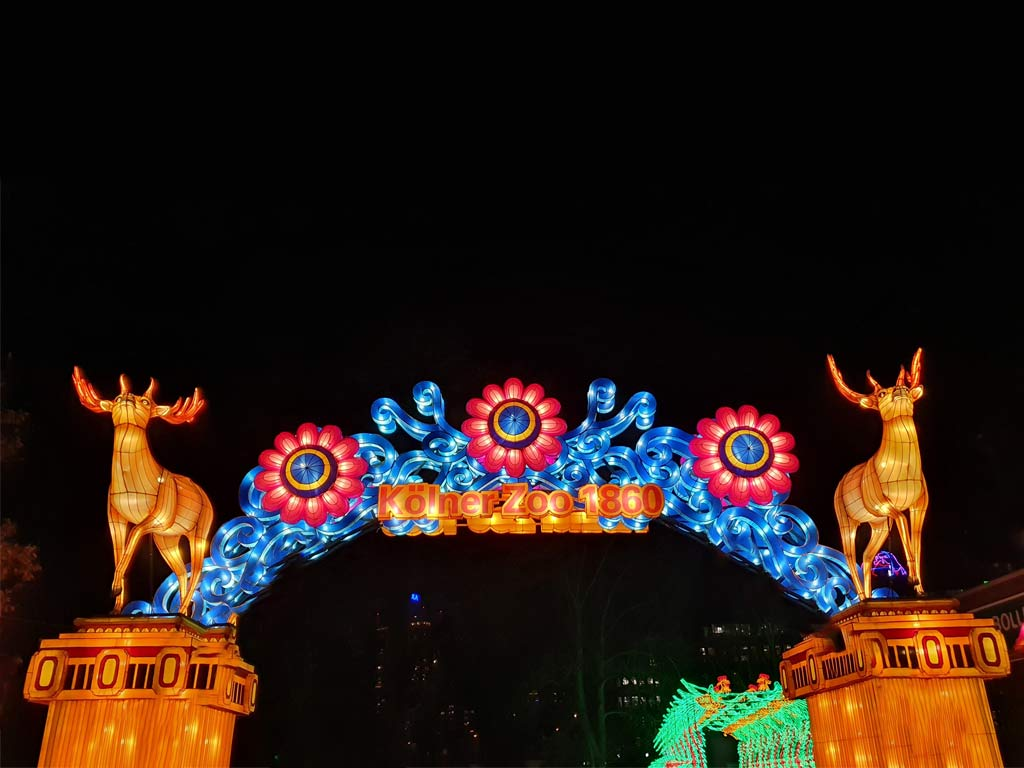 CityNEWS verlost 5 x 2 Tickets zum China Light Festival im Kölner Zoo copyright: CityNEWS