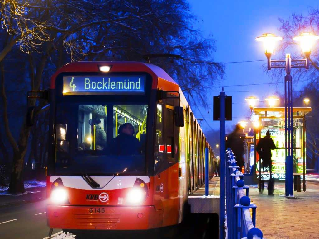 Der Nachtverkehr auf den verschiedenen Linien wird ausgebaut. copyright: Kölner Verkehrs-Betriebe AG