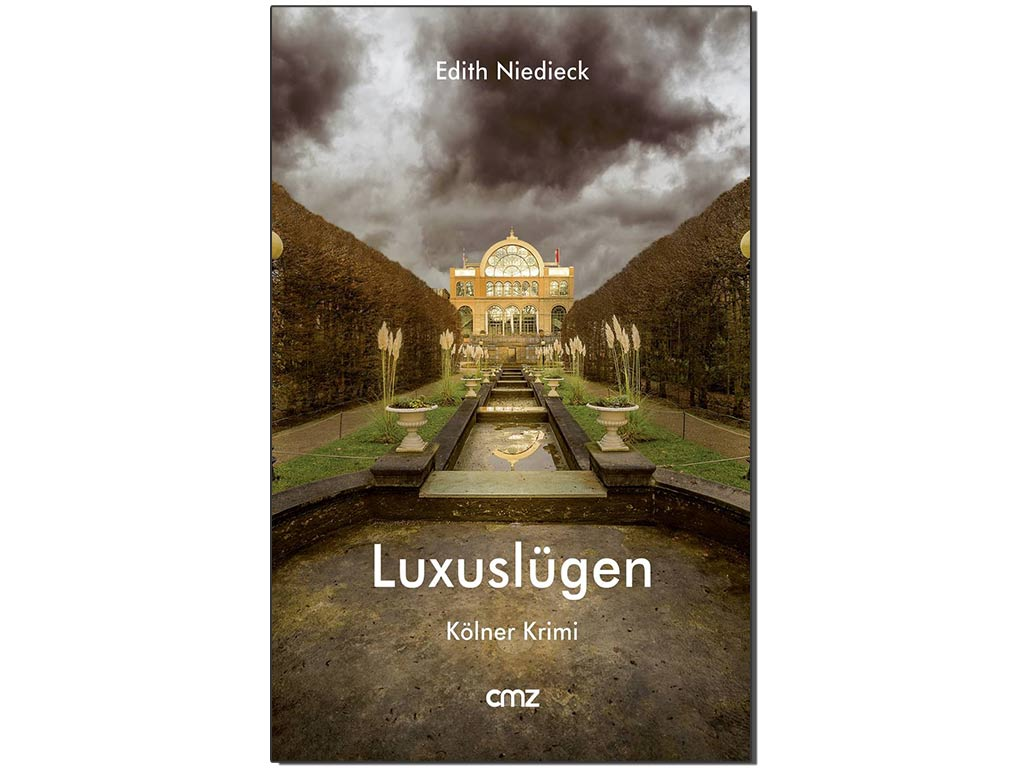 """Der neue Kölner Krimi """"Luxuslügen"""" von Edith Niedieck copyright: CMZ-Verlag / Meis & Hojzakowa Fotografie, Köln"""