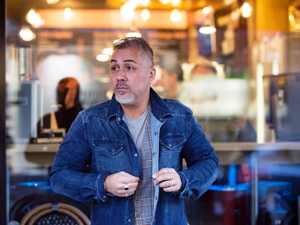 Zwei Herzinfarkte krempelten das Leben von Mike Leon grosch komplett um. copyright: CityNEWS / Alex Weis
