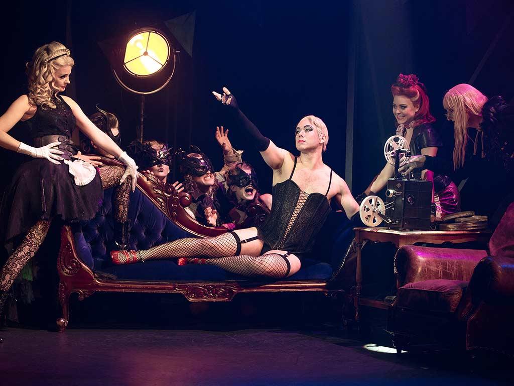 Trash, Sex und Rock'n'Roll: Die Rocky Horror Show ist der schrägste Trip der Musical-Geschichte. copyright: Jens Hauer