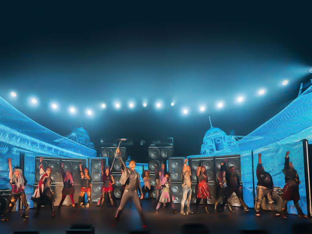 """Mit """"We will rock you"""" kehrt vom 17.11. – 29.11.2020 die rockige Hommage an QUEEN zurück in Kölner Musical Dome. copyright: Johan Oersson"""
