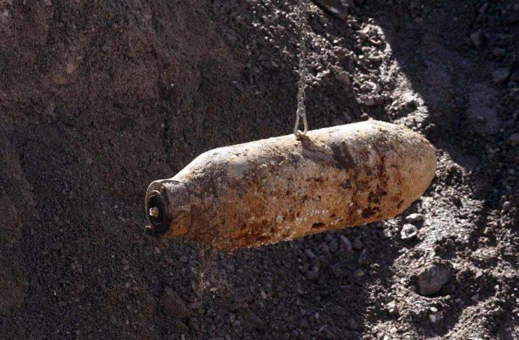 Erneut Bombe in Köln-Lindenthal gefunden: Entschärfung am 17.08.2021 (Symbolbiild)
