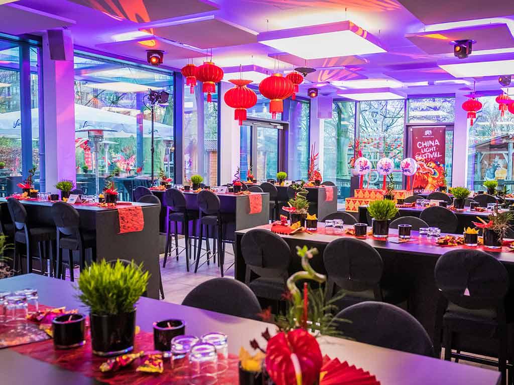 Die passende Location für die perfekte Veranstaltung - copyright: Zoo Gastronomie GmbH