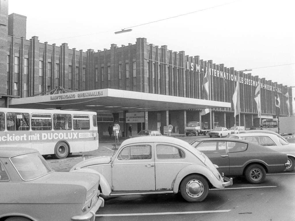 1971 feierte die ISM in Köln Premiere. copyright: Rheinisches Bildarchiv Köln / Koelnmesse