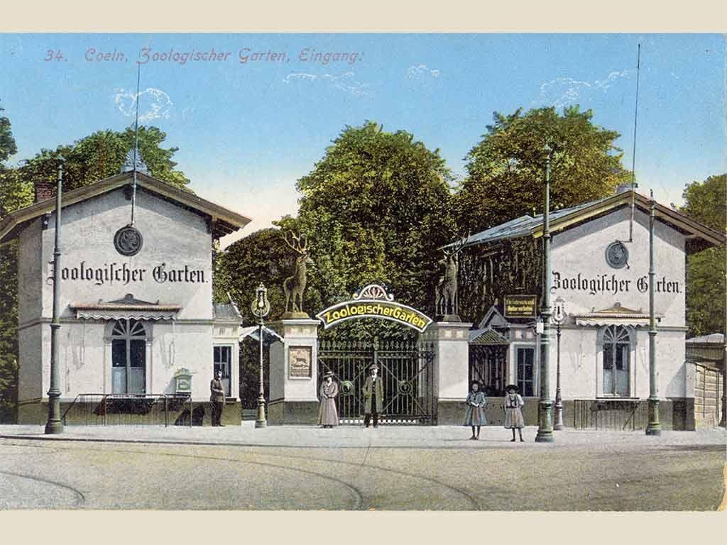 Am 22. Juli 1860 öffnete der Zoologische Garten in Köln erstmals seine Tore. copyright: Kölner Zoo