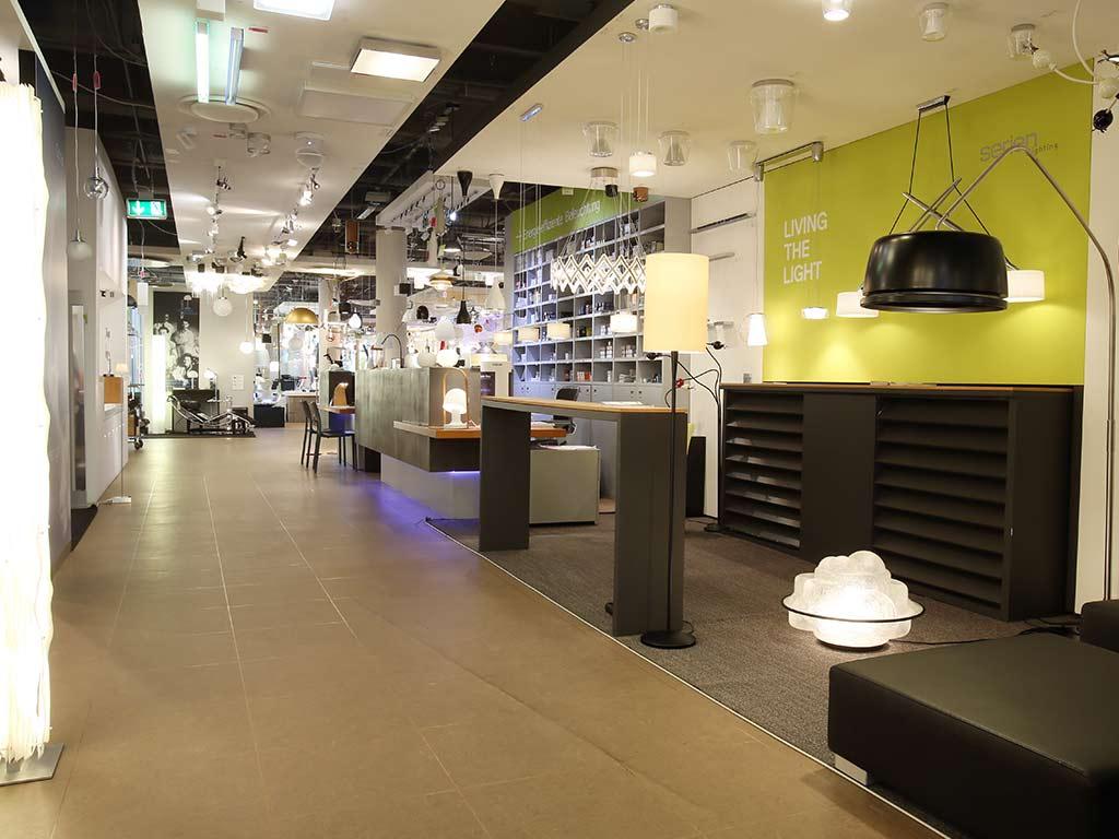 Das Kölner Lichthaus bietet hochmoderne Beleuchtungslösungen. copyright: Martina Goyert