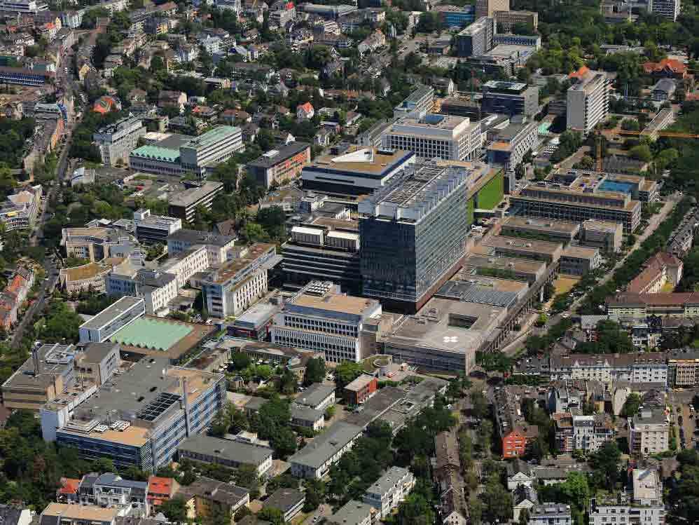 Teile der Uniklinik Köln werden evakuiert. copyright: Universitätsklinik Köln / Peter Sondermann / Stadt Köln