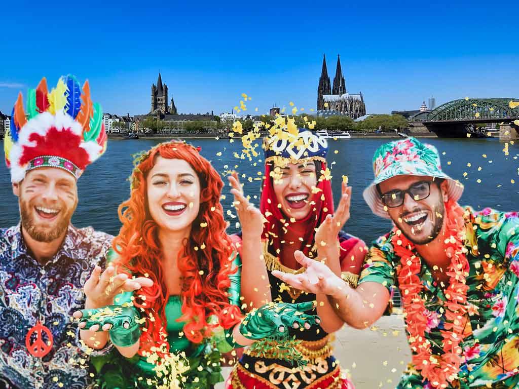 Weiberfastnacht 2020 in Köln: Übersicht zum Programm copyright: CityNEWS / DisobeyArt - stock.adobe.com