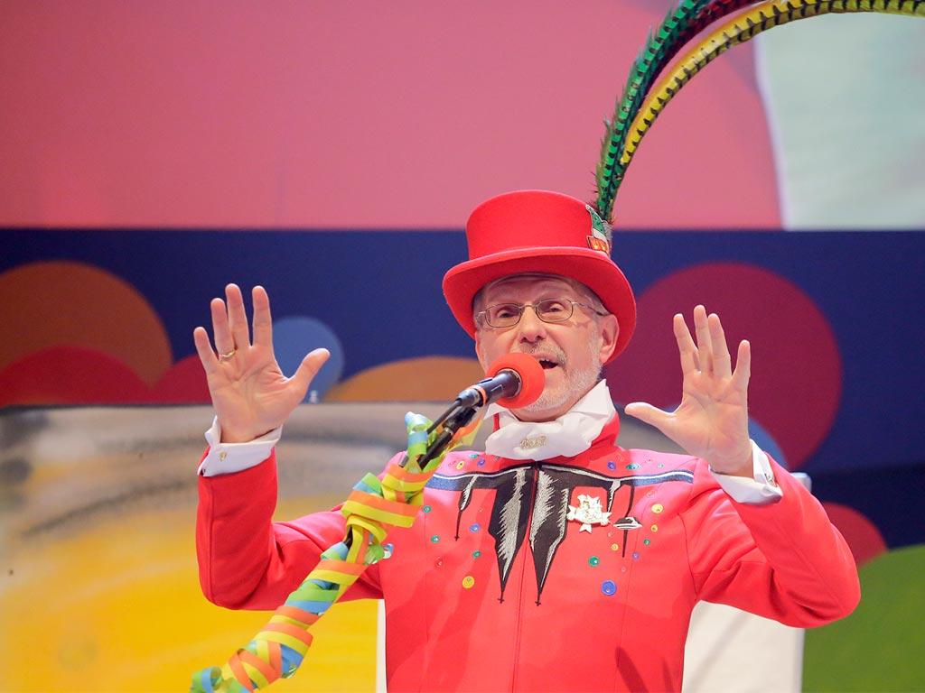 Um 20:15 Uhr zeigt das Erste / ARD die Aufzeichnung der ARD-Karnevalssitzung aus dem Kölner Gürzenich. copyright: WDR / Dirk Borm