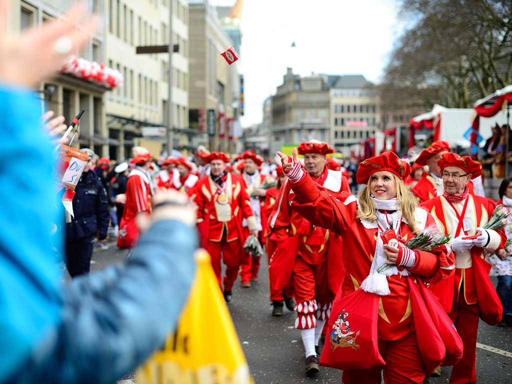 Nachhaltigkeit im Kölner Rosenmontagszug copyright: Festkomitee Kölner Karneval