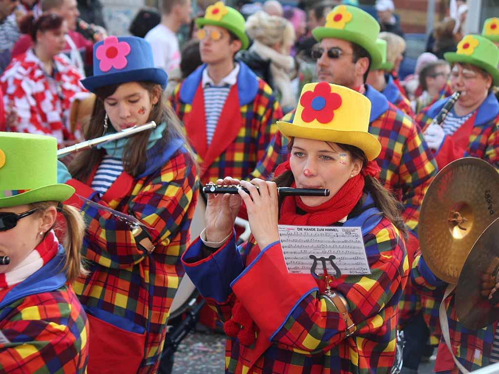 Gruppen-Reihenfolge bei den Schull- und Veedelszöch 2020 copyright: Festkomitee Kölner Karneval