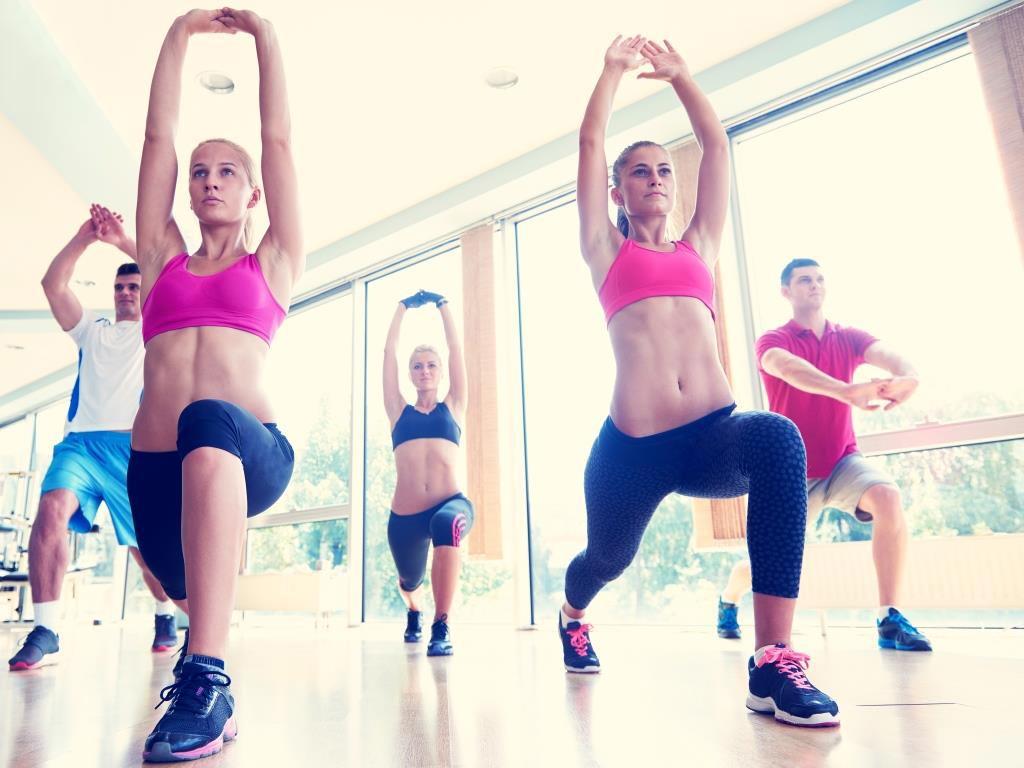3. Platz: Group-Fitness copyright: Envato / dotshock
