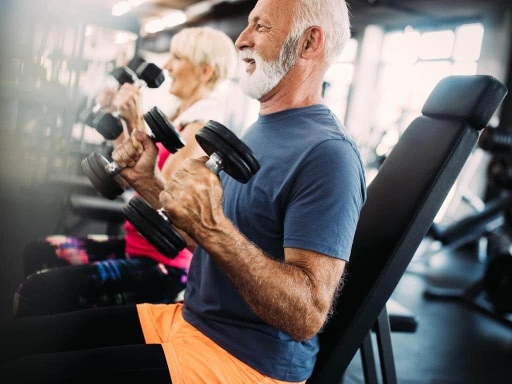 8. Platz: Fitness für Best-ager und Senioren - copyright: Envato / nd3000
