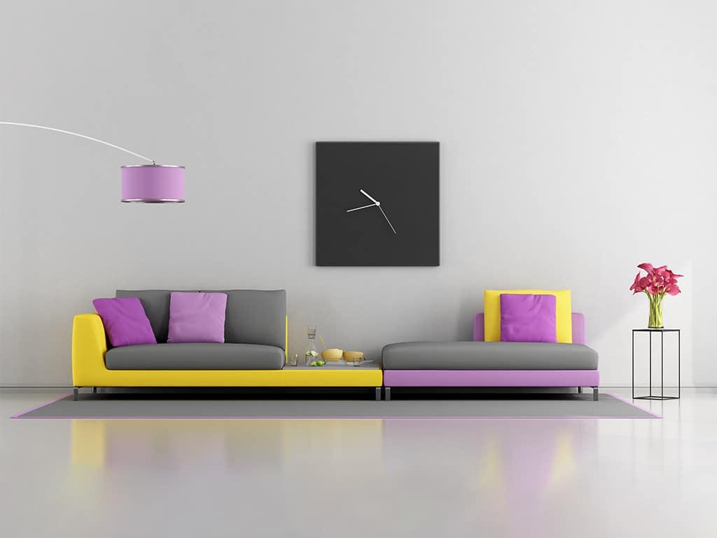 Farbiger wohnen: Das Zuhause wird bunter. copyright: Envato / archideaphoto