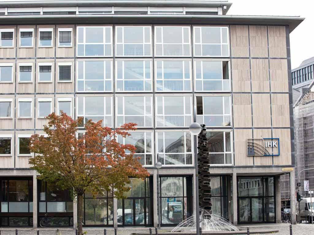 Die IHK KÖln schließt alle ihre Einrichtungen für den Publikumsverkehr. copyright: CityNEWS