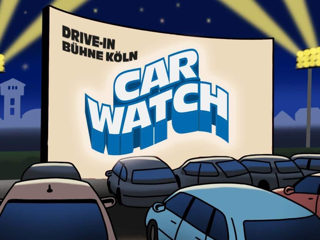 CityNEWS verlost insgesamt vier Entertainment-Pakete im neuen Kölner Pop-Up-Autokino. copyright: Car Watch Köln