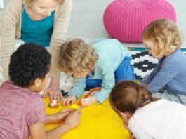 Ab 8. Juni 2020 ist die Kindertagesbetreuung in NRW wieder möglich. copyright: Envato / bialasiewicz