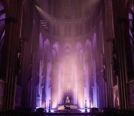 Kostenloses Konzert von Michael Patrick Kelly aus dem Kölner Dom copyright: Hohe Domkirche Köln, Dombauhütte; Foto: Ole Windgassen