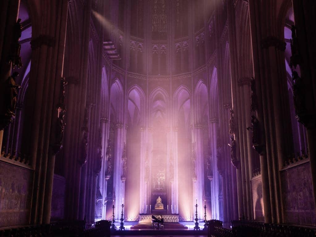 Kostenloses Konzert von Michael Patrick Kelly aus dem Kölner Dom - copyright: Hohe Domkirche Köln, Dombauhütte; Foto: Ole Windgassen
