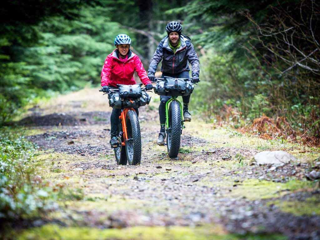Beim Microadventure auf dem Bike lassen sich die Routen ganznach den individuellen Wünschen gestalten. copyright: www.ortlieb.com | pd-f