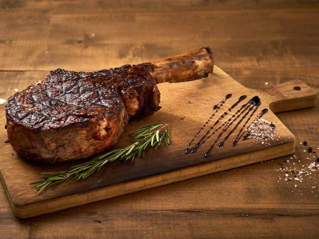 Vor allem die vielen verschiedenen Fleischsorten und Cuts sind bei den Steak-Freunden angesagt. copyright:THE ASH