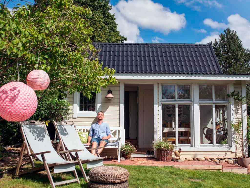 Gartenhaus statt Ferienhaus