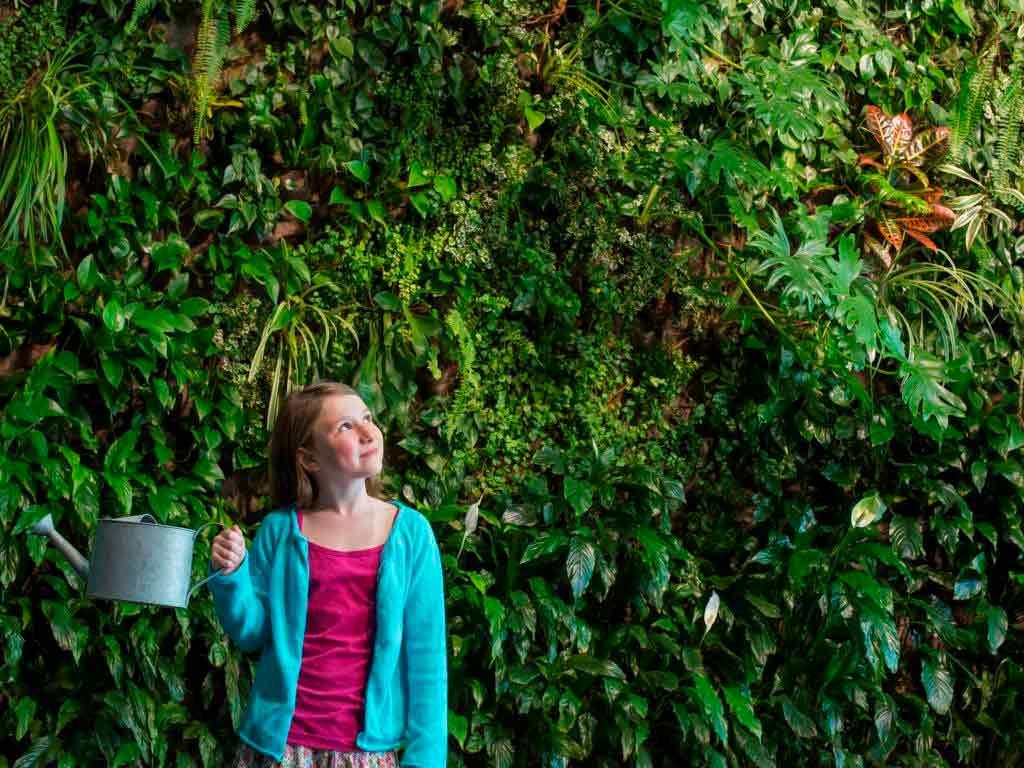 Vertikales Gärtnern: Mitten in der Stadt und doch im Grünen