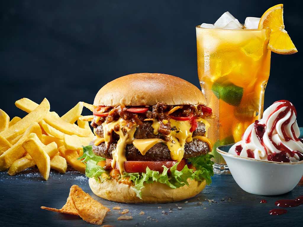 Das Restaurant in Köln ist ein Paradies für alle Burger-Fans.