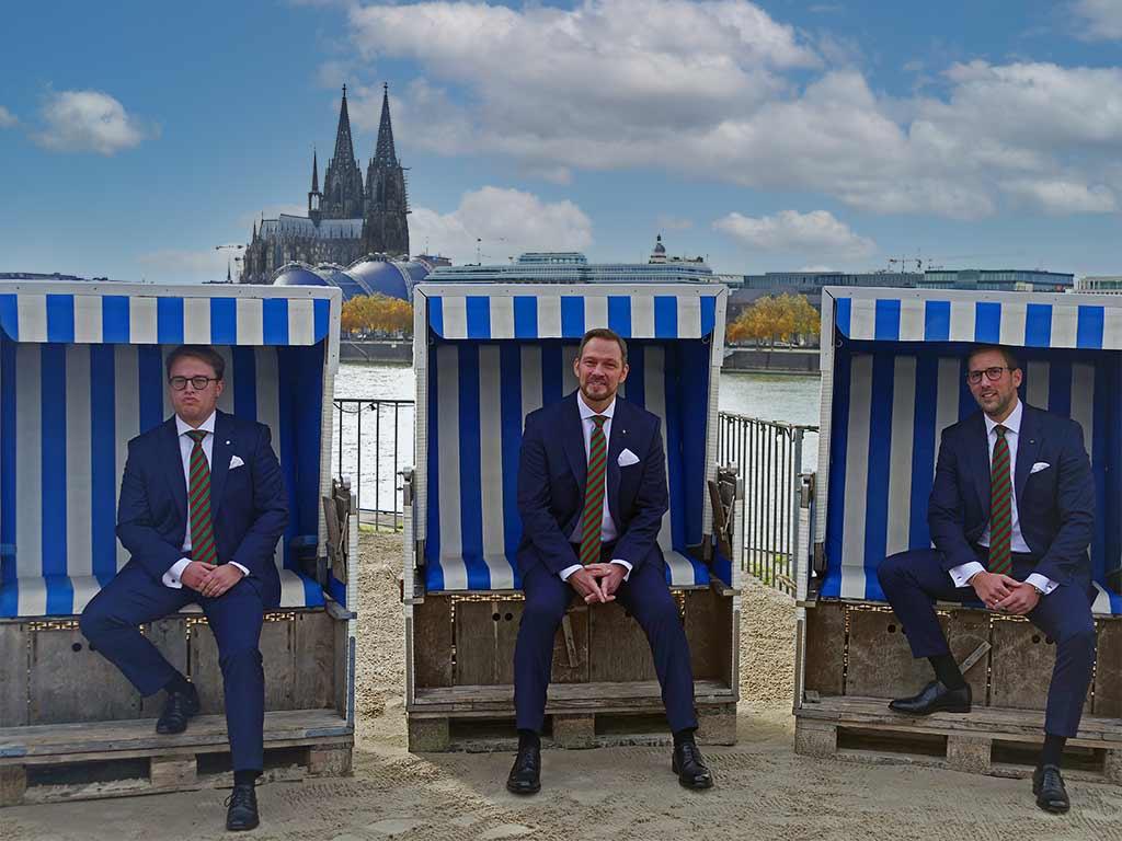 Kölner Dreigestirn 2021 / 2022: Prinz, Bauer und Jungfrau sind Altstädter