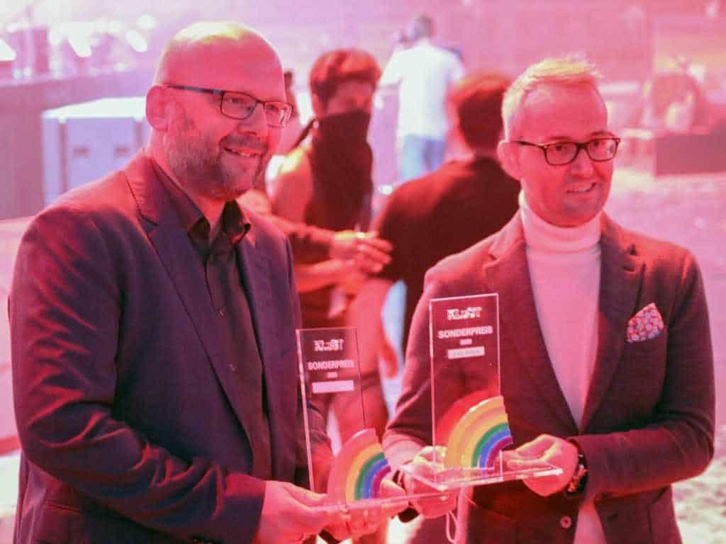 Der KLuST verlieh an die Kölner Haie und den 1. FC Köln Sonderpreise für deren Engagement in Sachen Diversity und Gleichstellung.
