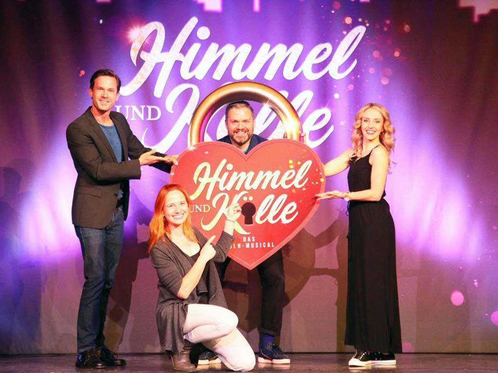 """""""Himmel & Kölle"""" - das Köln-Musical in der Volksbühne am Rudolfplatz."""