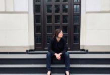 """Autorin Edith Niedieck liest aus ihrem Kirimalroman """"Luxuslügen""""."""