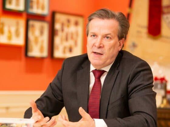 """""""Den Sessionsauftakt so reduziert und leise zu begehen war hart"""", so Festkomitee-Präsident Christoph Kuckelkorn (Archivbild)"""