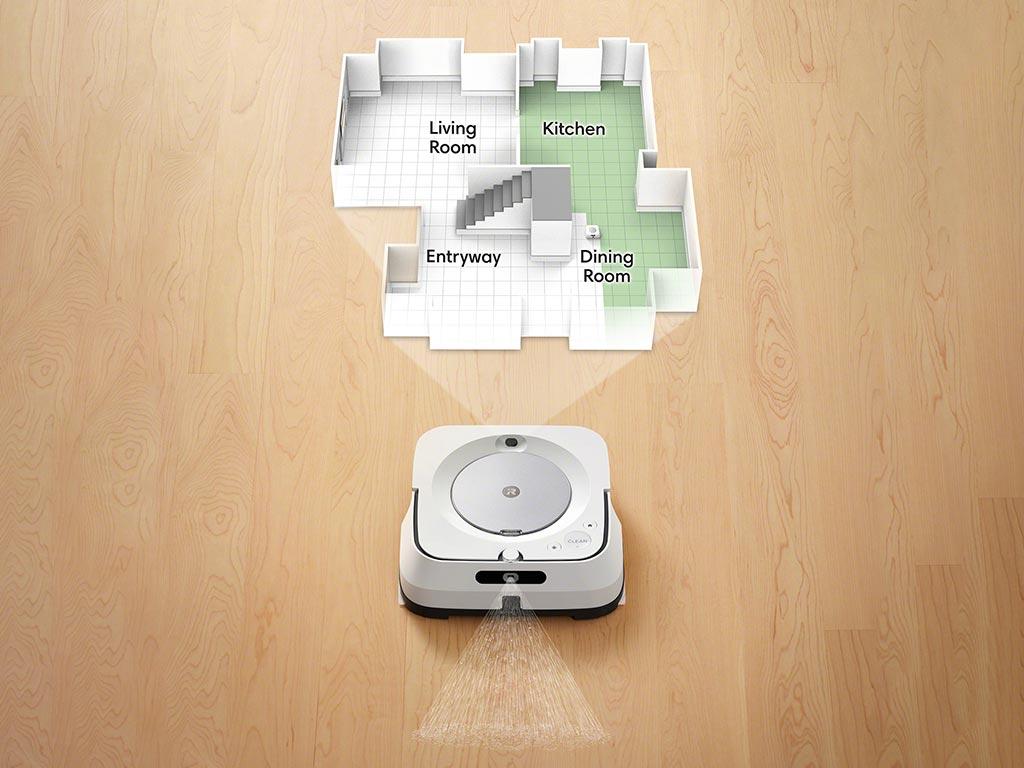 Smarte Technik sorgt für problemloses Reinigen.