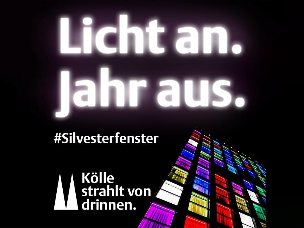 Silvesterfenster: Mit diesen Tipps wird Köln an Silvester richtig bunt!