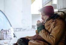 Winterhilfe in der kalten Jahreszeit für Woununglose bzw. Obdachlose in Köln (Symbolbild)