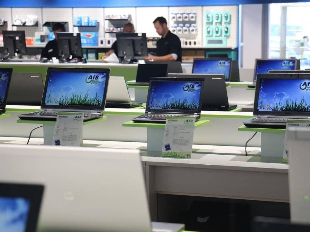 AfB social & green IT-Shop bietet