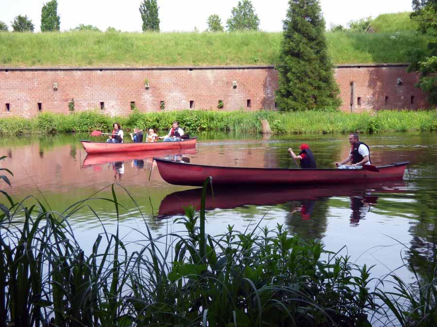 Spaß, Spiel und Kultur im Brückenkopf-Park Jülich