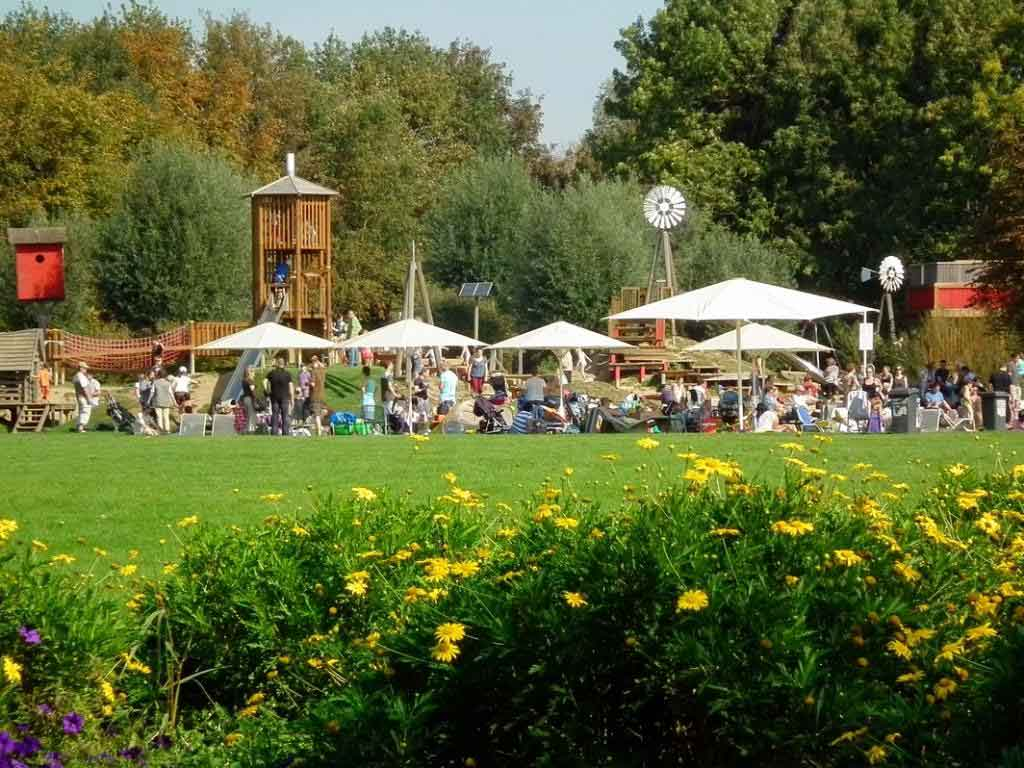 Der Brückenkopf-Park bietet auch vielfältige Veranstaltungen.